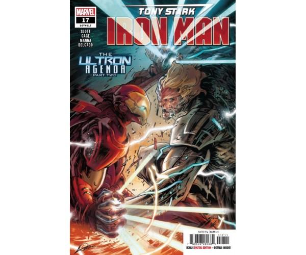 Tony Stark Iron Man #17 Cover A Regular Alexander Lozano Cover