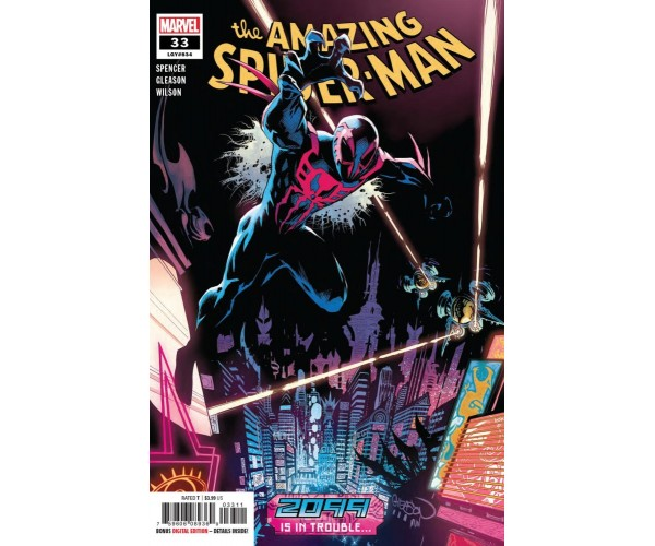 Amazing Spider-Man Vol 5 #33 Cover A Regular Patrick Gleason Cover (2099 Tie-In)