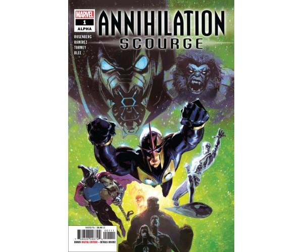 Annihilation Scourge Alpha #1 Cover A Regular Josemaria Casanovas Cover