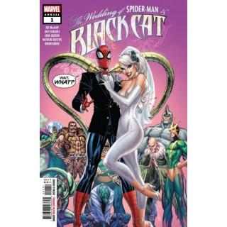 Black Cat Annual #1 Cover A Regular J Scott Campbell Cover