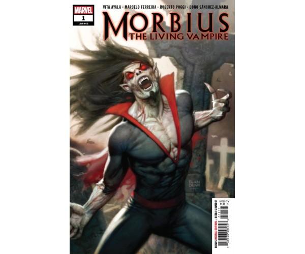 Morbius #1 Cover A Regular Ryan Brown Cover