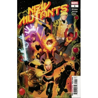 New Mutants Vol 4 #1 Cover A Regular Rod Reis Cover (Dawn Of X Tie-In)