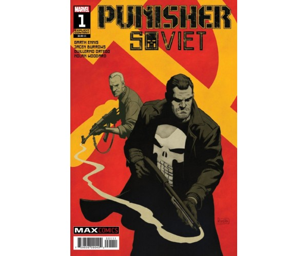 Punisher Soviet #1 Cover A Regular Paolo Rivera Cover