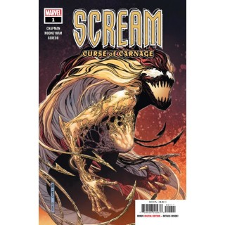 Scream Curse Of Carnage #1 Cover A Regular Jim Cheung Cover (Absolute Carnage Tie-In)
