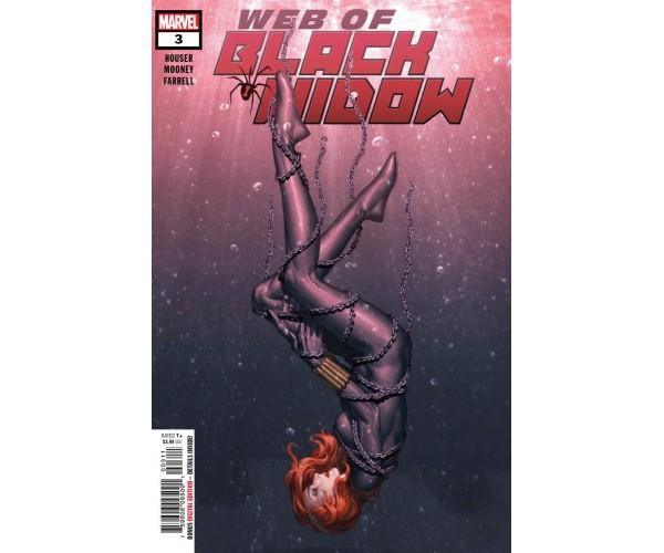 Web Of Black Widow #3 Cover A Regular Junggeun Yoon Cover