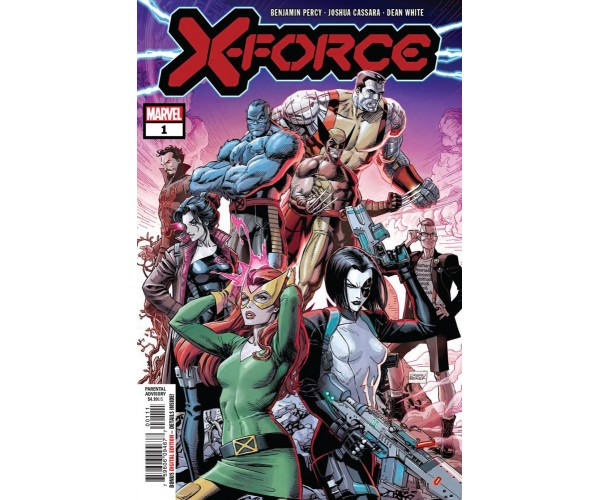 X-Force Vol 6 #1 Cover A Regular Dustin Weaver Cover (Dawn Of X Tie-In)