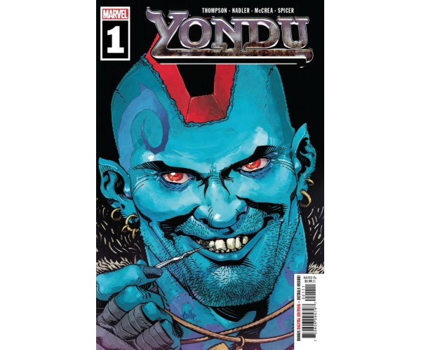 Yondu #1 Cover A Regular Cully Hamner Cover