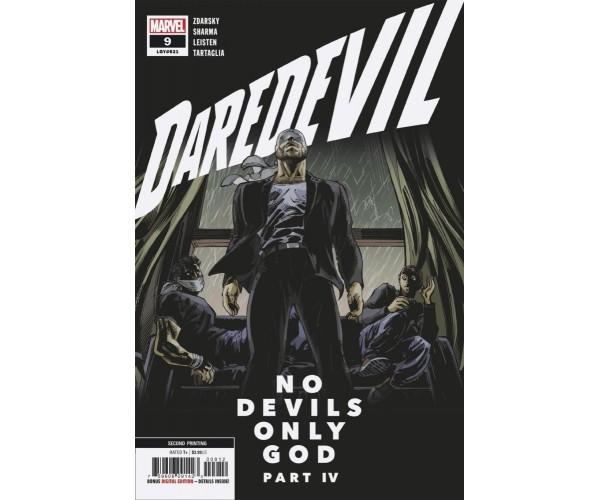 Daredevil Vol 6 #9 Cover C 2nd Ptg Variant Lalit Kumar Sharma Cover