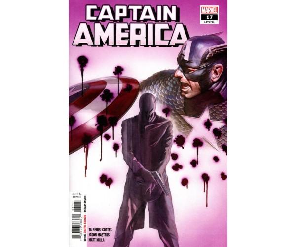 Captain America Vol 9 #17 Cover A Regular Alex Ross Cover