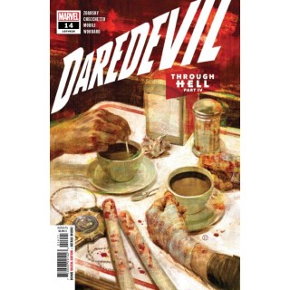 Daredevil Vol 6 #14 Cover A Regular Julian Totino Tedesco Cover
