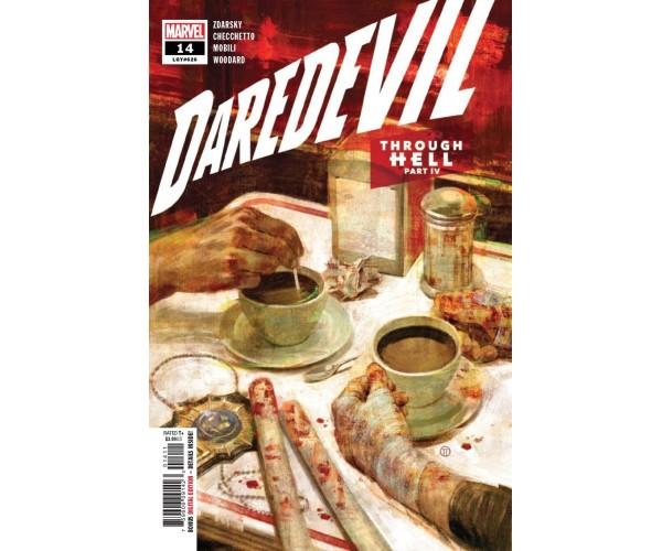 Daredevil Vol 6 #14 Cover A Regular Julian Totino Tedesco Cover