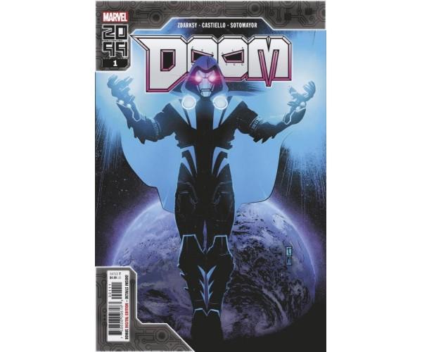 Doom 2099 One Shot Cover A Regular Tomm Coker Cover