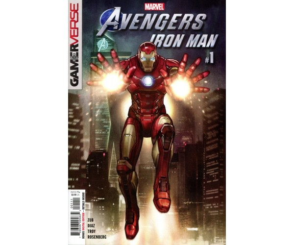 Marvels Avengers Iron Man #1 Cover A Regular Stonehouse Cover