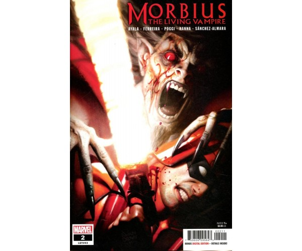 Morbius #2 Cover A Regular Ryan Brown Cover