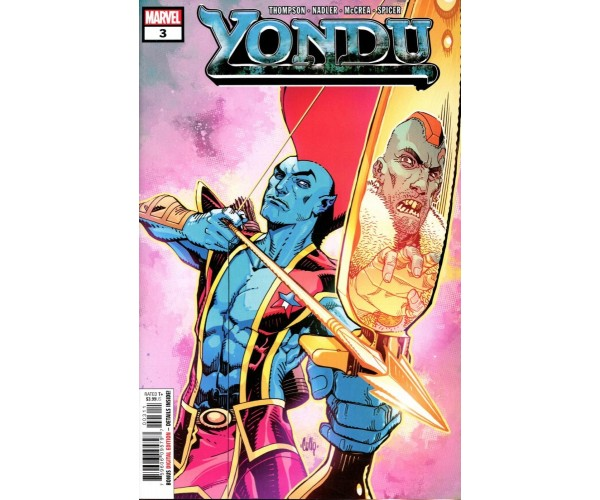 Yondu #3 Cover A Regular Cully Hamner Cover