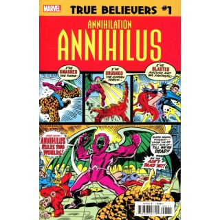 True Believers Annihilation Annihilus #1