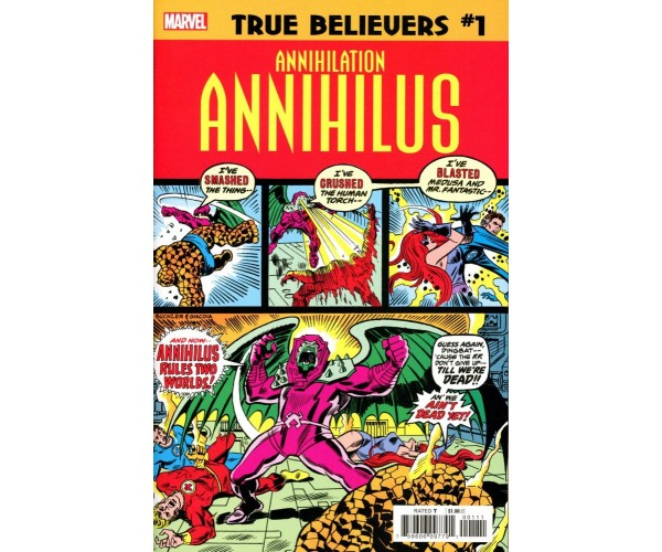 True Believers Annihilation Annihilus #1