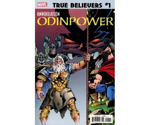 True Believers Annihilation Odinpower #1
