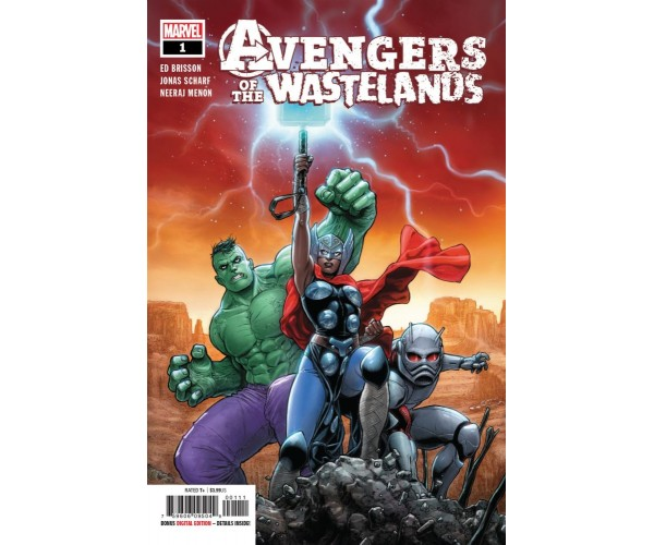 Avengers Of The Wastelands #1 Cover A Regular Juan Jose Ryp Cover