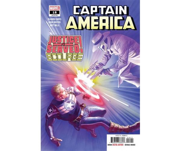 Captain America Vol 9 #18 Cover A Regular Alex Ross Cover