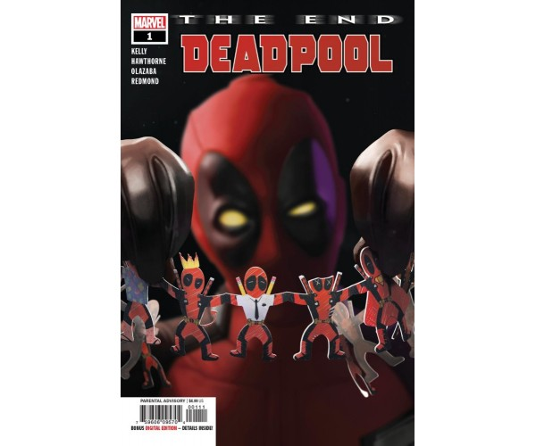 Deadpool The End One Shot Cover A Regular Rahzzah Cover