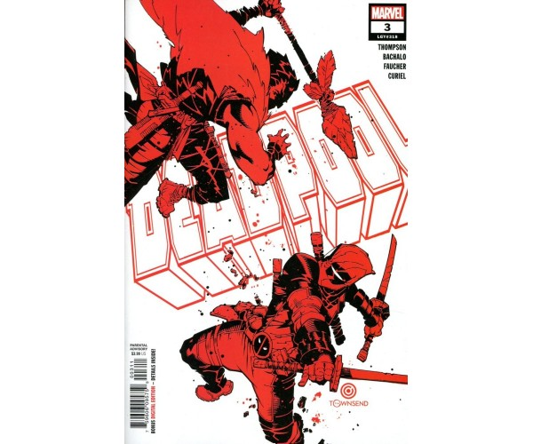Deadpool Vol 7 #3 Cover A Regular Chris Bachalo Cover