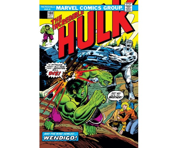 Incredible Hulk #180 Cover B Facsimile Edition