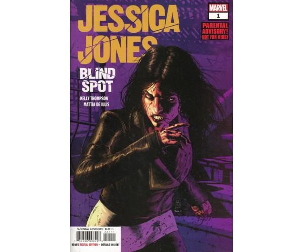 Jessica Jones Blind Spot #1 Cover A Regular Valerio Giangiordano Cover