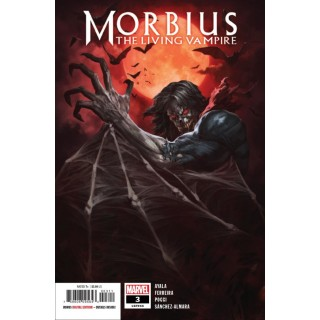 Morbius #3 Cover A Regular Skan Cover