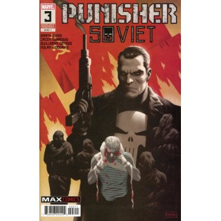 Punisher Soviet #3 Cover A Regular Paolo Rivera Cover