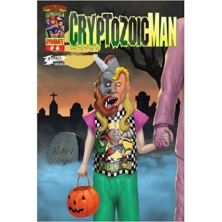 Cryptozoic Man #2 Cover B DF Dynamic Jet Pack Limited Edition Variant Cover