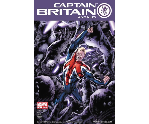 Captain Britain And MI 13 #8 Regular Bryan Hitch Cover