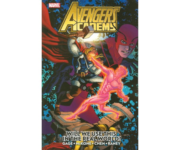 Avengers Academy TP Vol 02 Will We Use This In The Real World?
