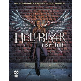 John Constantine Hellblazer Rise and Fall HC