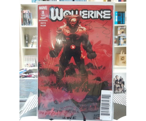 Wolverine Vol 7 #1 Cover O DF Signed By Benjamin Percy (Dawn Of X Tie-In)