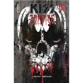 KISS Zombies #5 Cover A Regular Arthur Suydam Cover