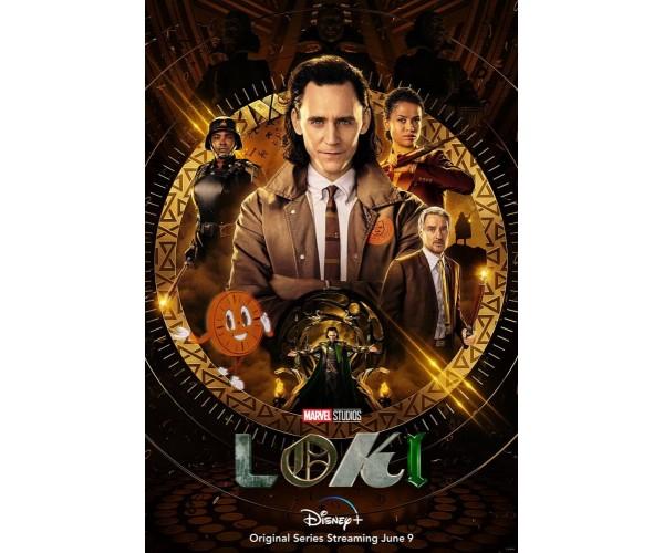 Постер Локі Loki A3 01