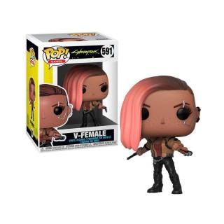 """Фігурка Funko Pop серії """"Cyberpunk 2077"""" - Ві-жінка"""