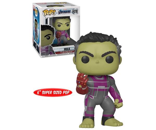 """Funko POP Hulk with Gauntlet 6"""""""