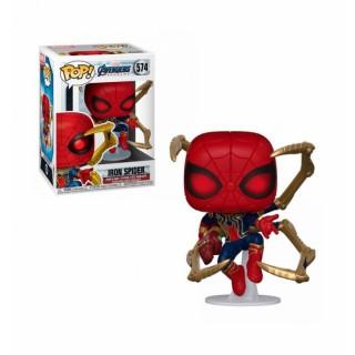 """Фігурка Funko Pop cерії """"Месники: Фінал"""" - Людина-павук з нано-рукавицею"""