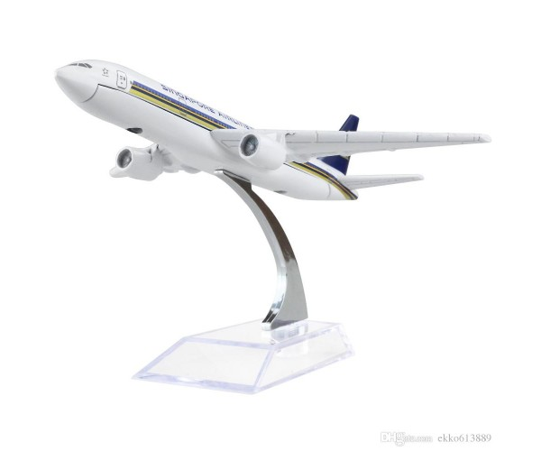 Модель пасажирський літак Boeing 777 Singapore
