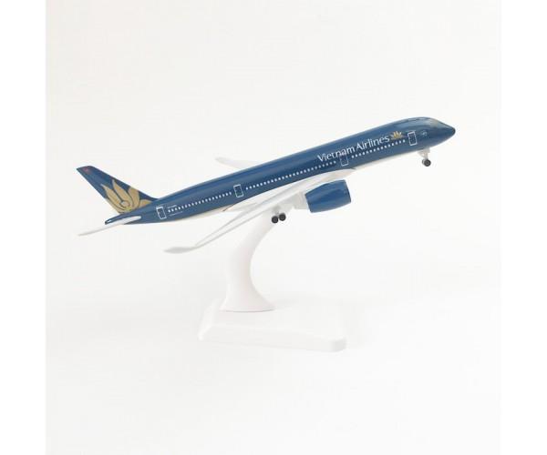 Модель пасажирський літак Airbus A350 Vietnam 20см