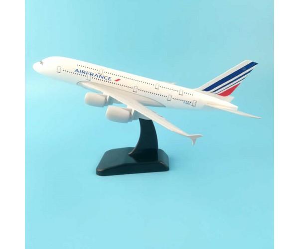 Модель пасажирський літак Airbus A380 Air France 20см