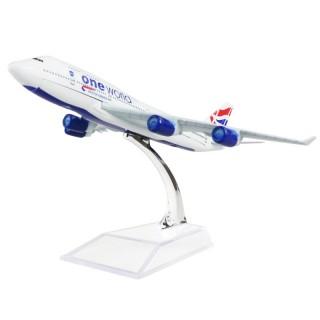 Модель пасажирський літак Boeing 747 British Airways