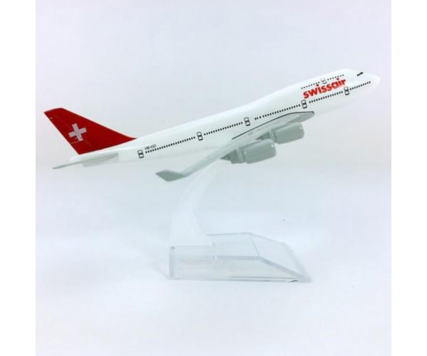 Модель пасажирський літак Boeing 747 Swissair