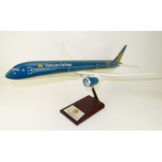 Модель пасажирський літак Boeing 787 Vietnam 43см