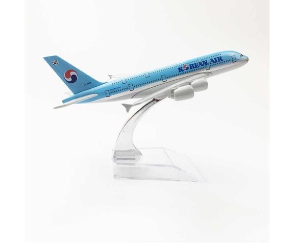 Модель пасажирський літак Airbus A380 Korean