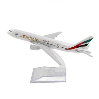Модель пасажирський літак Boeing 777 Emirates