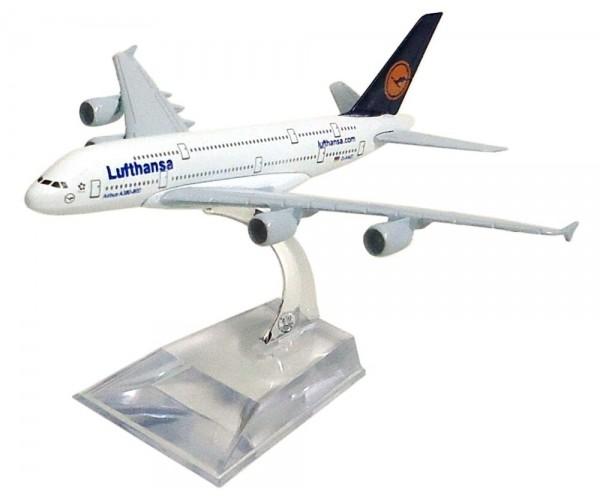 Модель пасажирський літак Airbus A380 Lufthansa