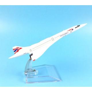 Модель пасажирський літак Concorde British Airways